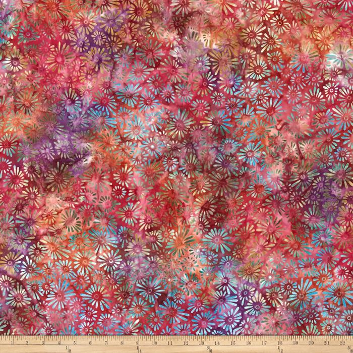 Wilmington Batiks Flower Field Multi