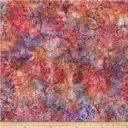 Batavian Batiks Flower Field Multi