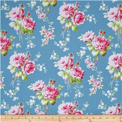 Tanya Whelan Sadie's Dance Card Rose Bouquet Blue