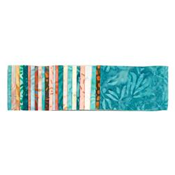 "Wilmington Batiks 2.5"" Strips Miami vice"