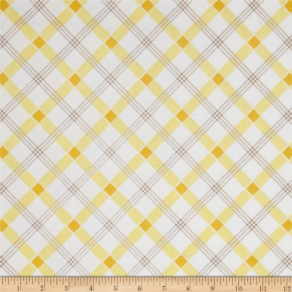 Penny Rose Apple Farm Plaid Yellow