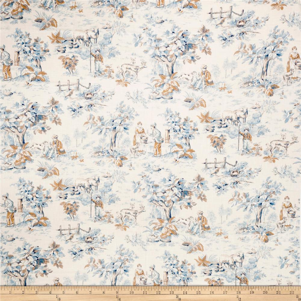 Jaclyn Smith Toile 02099 Blend Cobalt