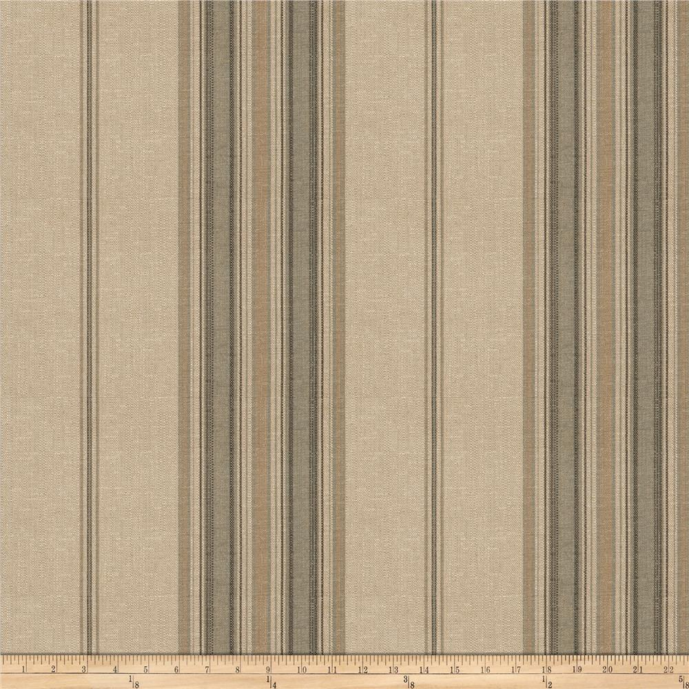 Fabricut Nigel Stripe Basketweave Slate