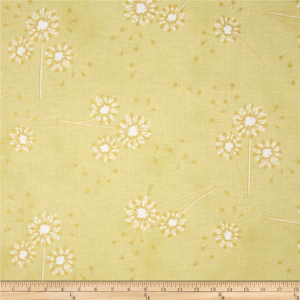 Clarabelle Metallic Dandelion Watercress/Gold