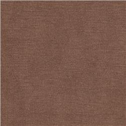 Rayon Cotton Jersey Knit Warm Chocolate
