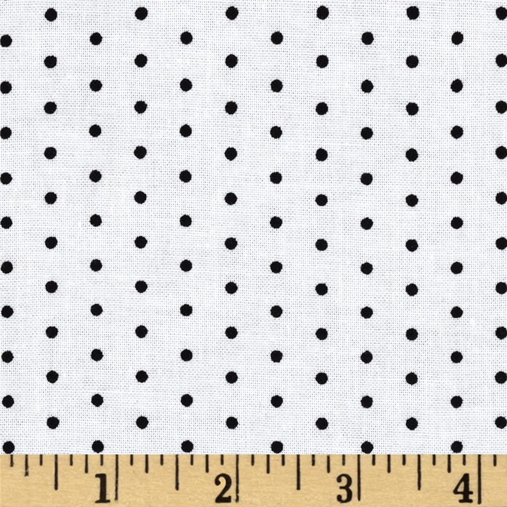 Jet Setter Swiss Dot White/Black