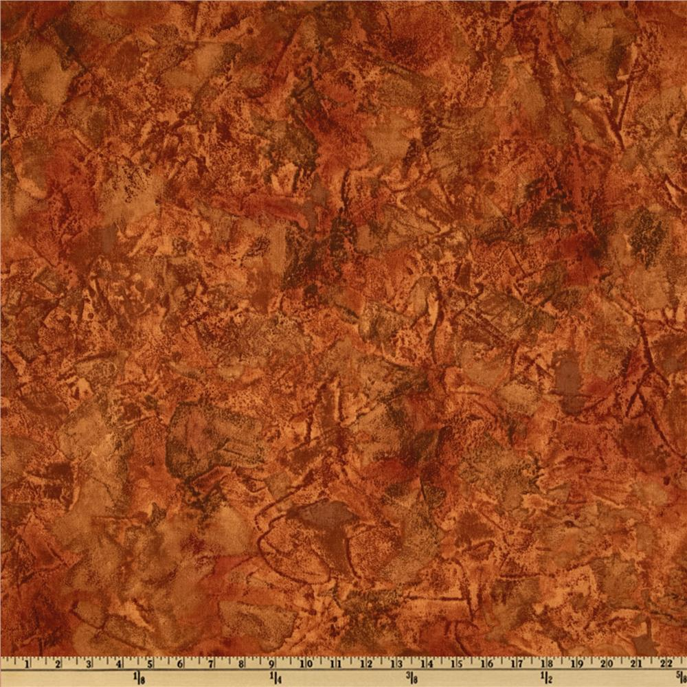 Lakeside Retreat Rough Texture Rust