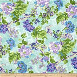 Tracy Porter Ardienne Large Floral Green