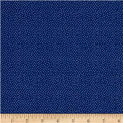 Kitty Beach Dots Navy