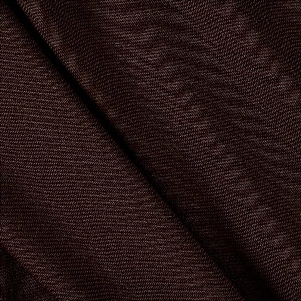 Activewear Spandex Knit Chocolate
