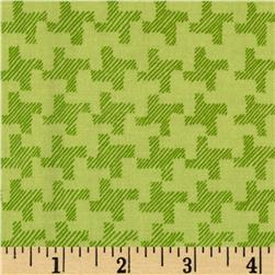 Jams & Jellies Houndstooth Green