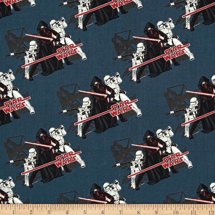 Star Wars The Force Awakens Imperial Midnight Fabric 0418931