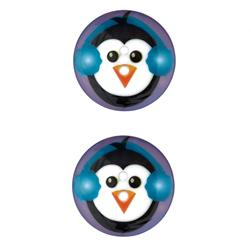 Novelty Winter Wonder Button 1 1/8'' Penguin