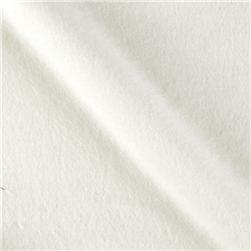 Solid Flannel Ivory Fabric