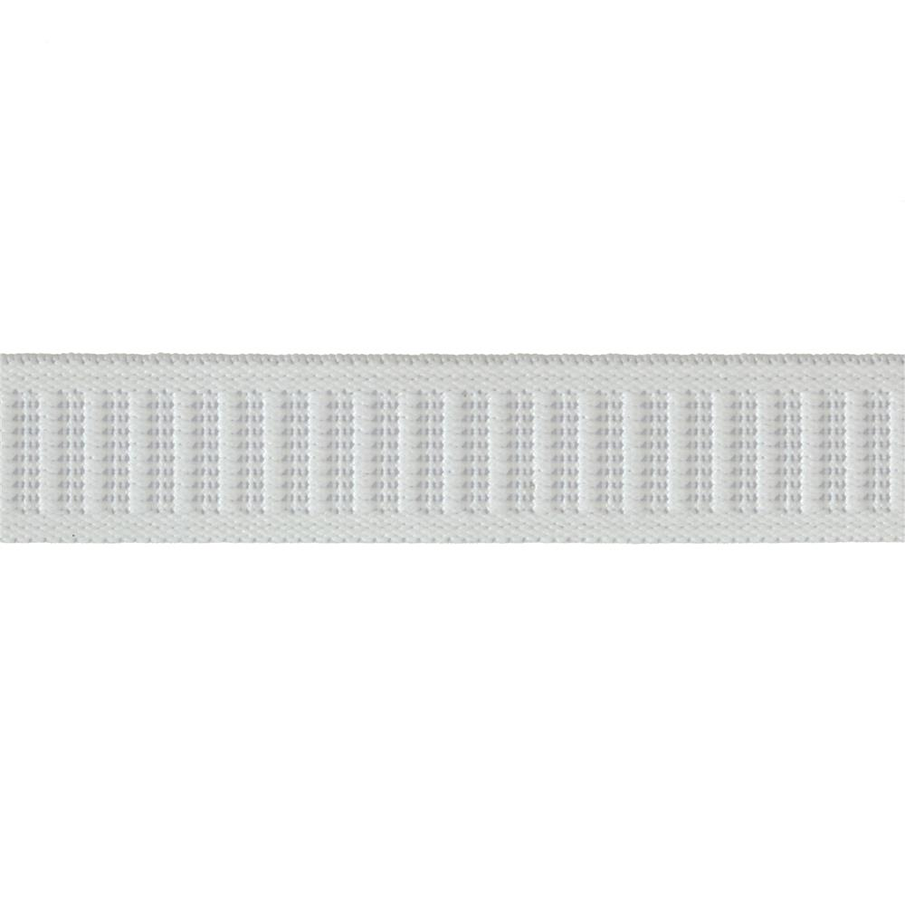 "3/4"" Non-Roll Elastic White By the Yard"