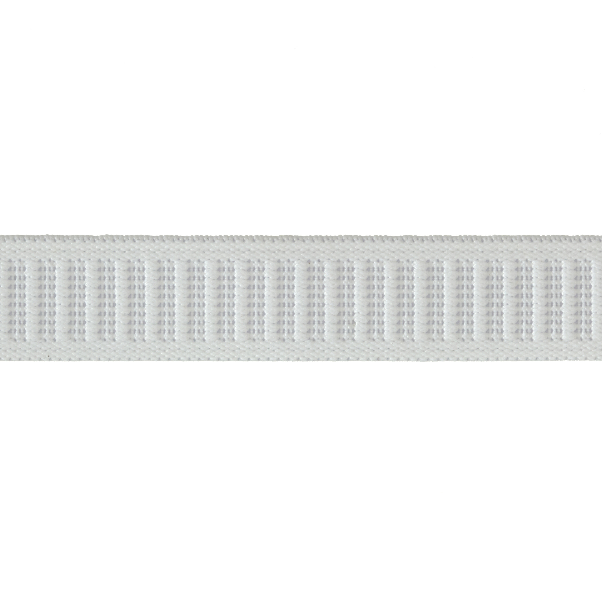 3/4'' Non-Roll Elastic White By the Yard