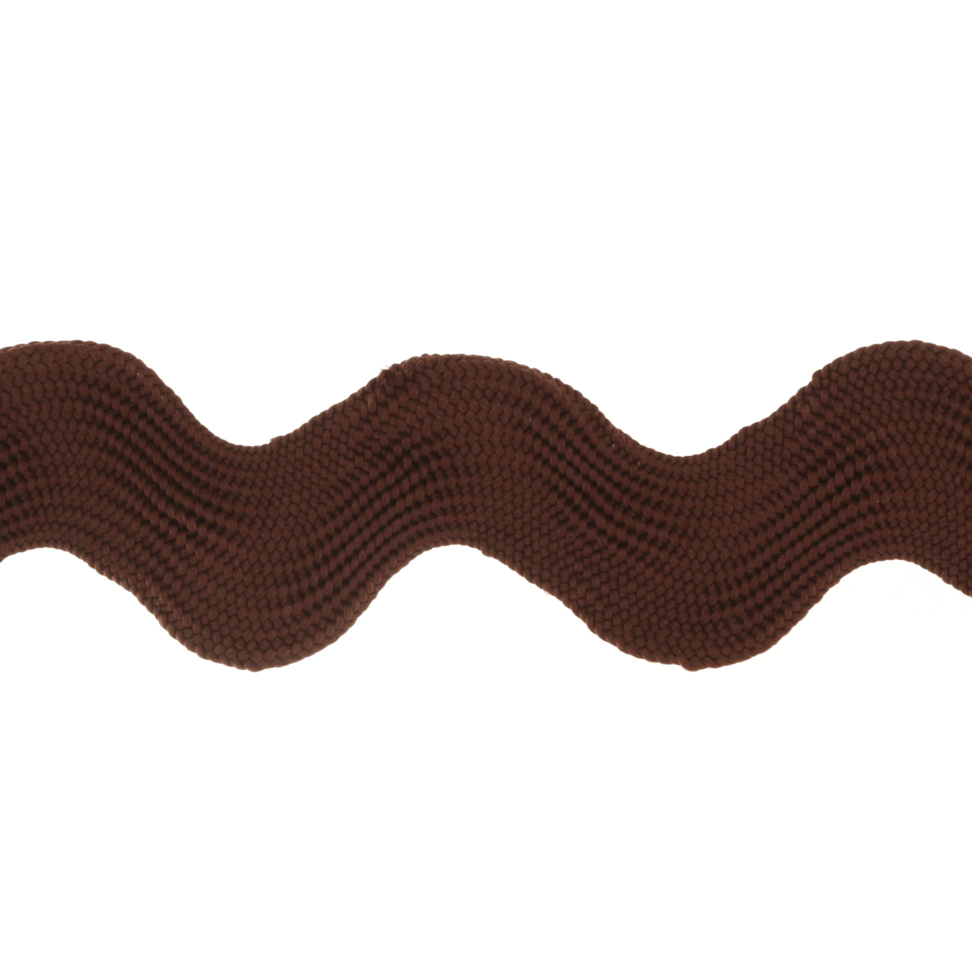 Riley Blake 1 1/2'' Jumbo Ric Rac Brown