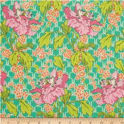 Amy Butler Violette Field Poppy Rose Fabric