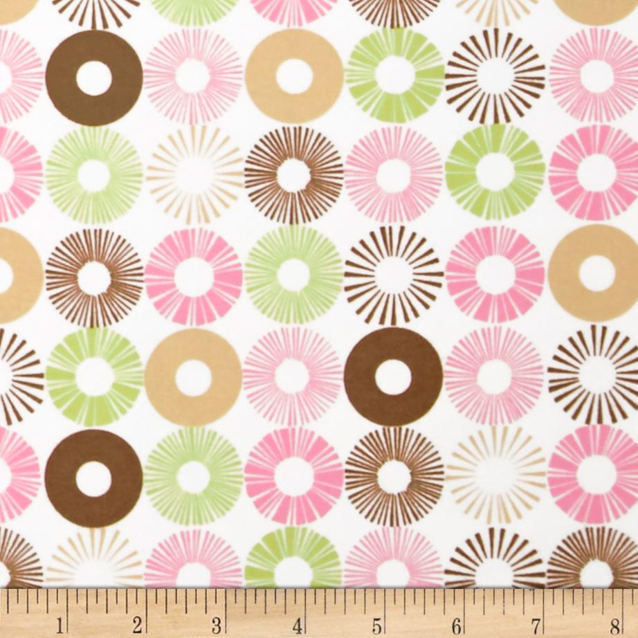 Cozy Cotton Flannel Circles Garden