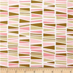 Cozy Cotton Flannel Geo Garden Fabric