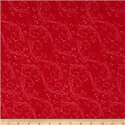 Holiday Homecoming Swirl Red