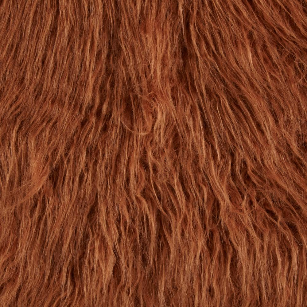 Faux Fur Lofty Mongolian Fur Taupe