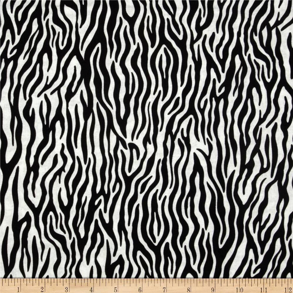 Goin' Wild Zebra Black/White