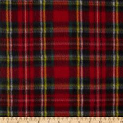 Fleece Plaid Red/Black