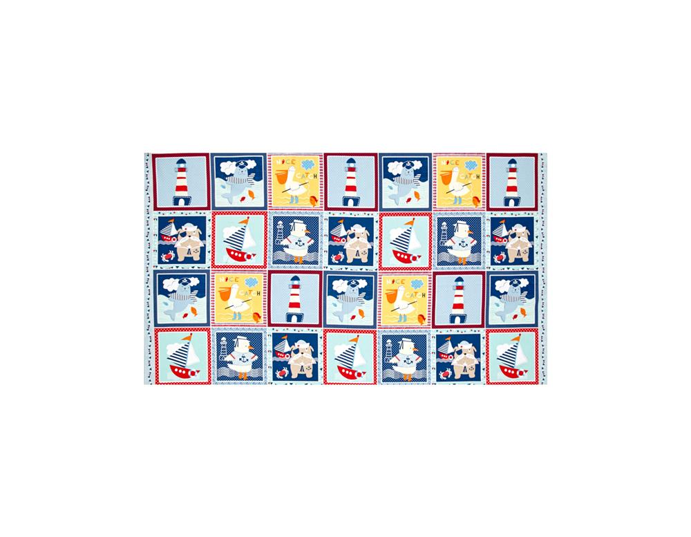 Ahoy Matey 24 In. Blocks Multi