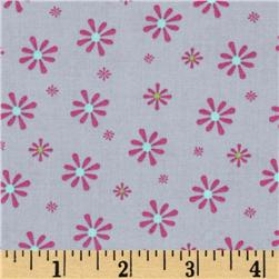 Silk Road Small Flowers Slate