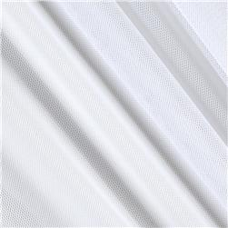 Telio Stretch Nylon Mesh Knit White