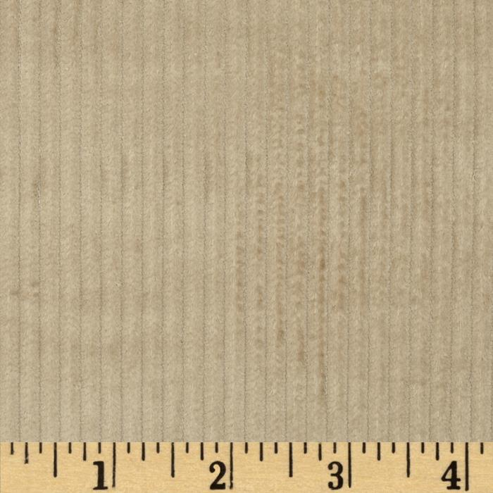 6 wale corduroy khaki discount designer fabric for Corduroy fabric
