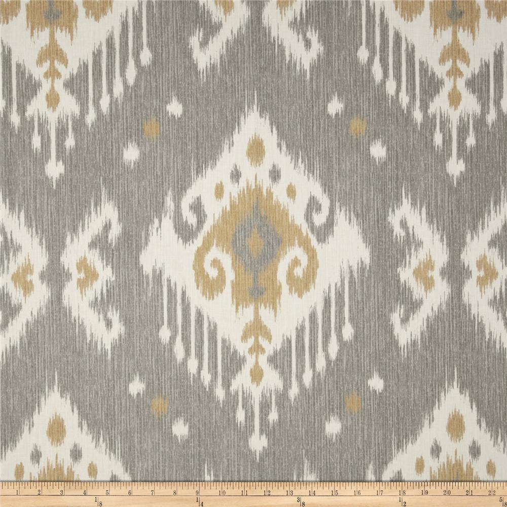 Magnolia Home Fashions Dakota Ikat Grey