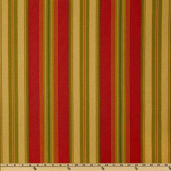 Swavelle/Mill Creek Biscayne Stripe Poppy