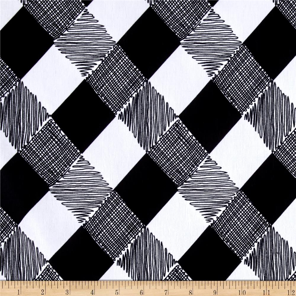 Ponte de Roma Checkers Black
