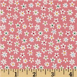 Riley Blake My Sunshine Floral Pink Fabric