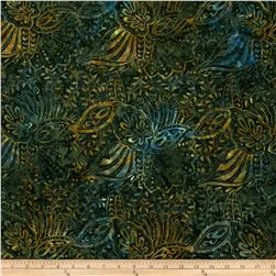 Batavian Batiks Perfectly Paisley Hunter Green