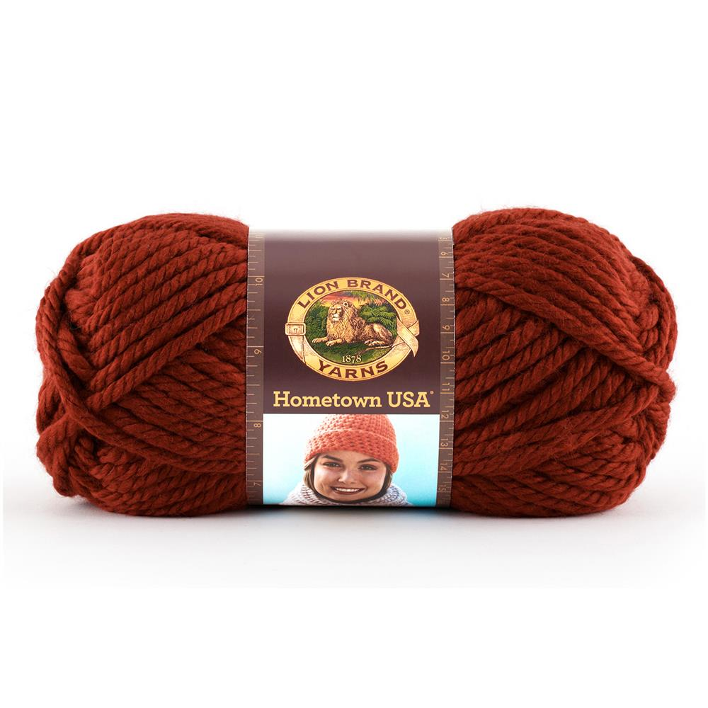 Lion Brand Hometown USA Yarn  (114) Tampa Spice