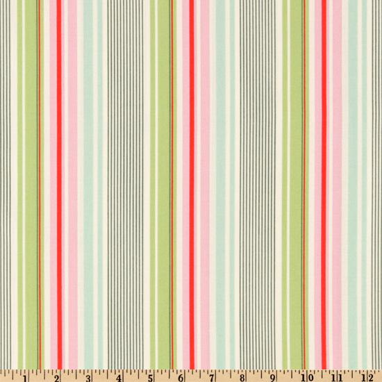 Nicey Jane Slim Dandy Stripes Pink