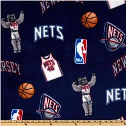 NBA Fleece New Jersey Nets Toss Blue