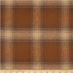 Primo Plaids V Flannel Large Plaid Brown