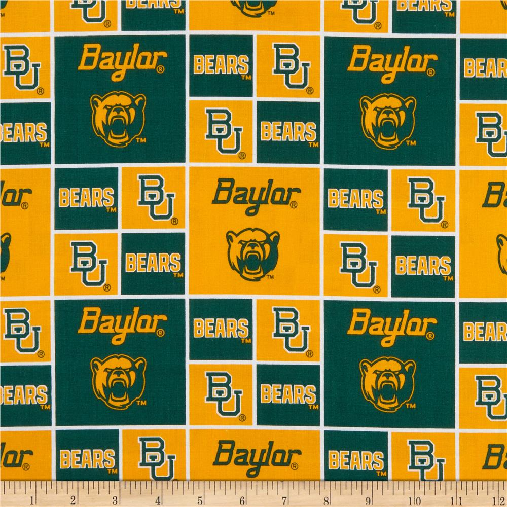 Collegiate Cotton Broadcloth Baylor University