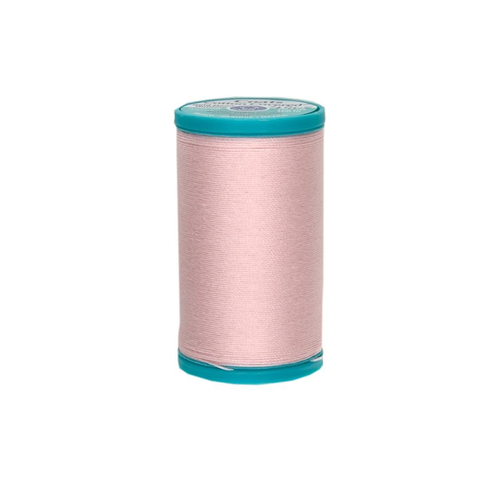 Coats & Clark Covered Cotton Bold Hand Quilting Thread Light Pink