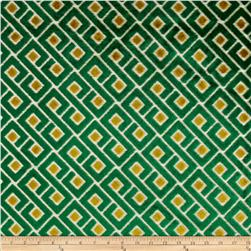 Richloom Tether Upholstery Jacquard Emerald