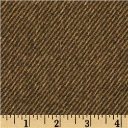 Wool Blend Coating Brown/Beige