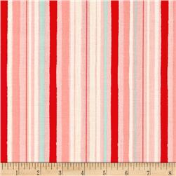 Riley Blake Hello Gorgeous Stripe Pink