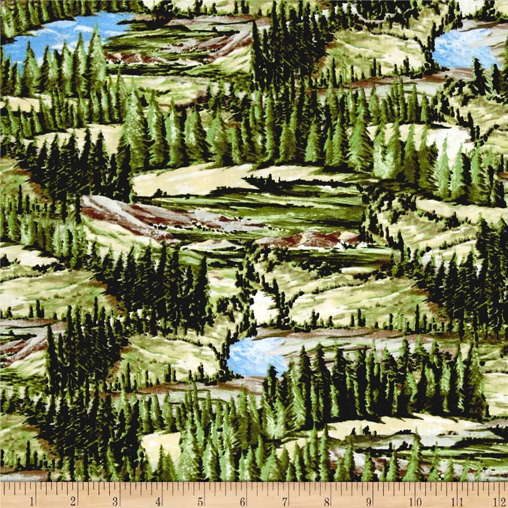 A Ticket To Ride Trees Landscape Multi