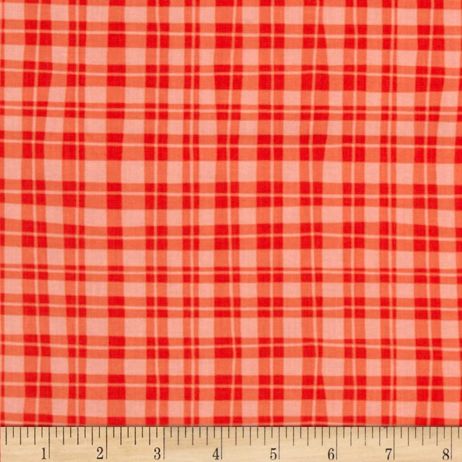 Naughty Puppies Puppy Gingham Red