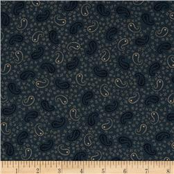 Scrap Happy Paisley Blue