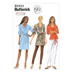Butterick Misses' Top, Tunic, Dress and Belt Pattern
